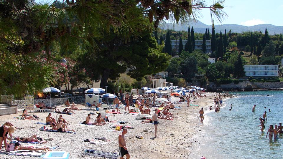 Strand in Mlini